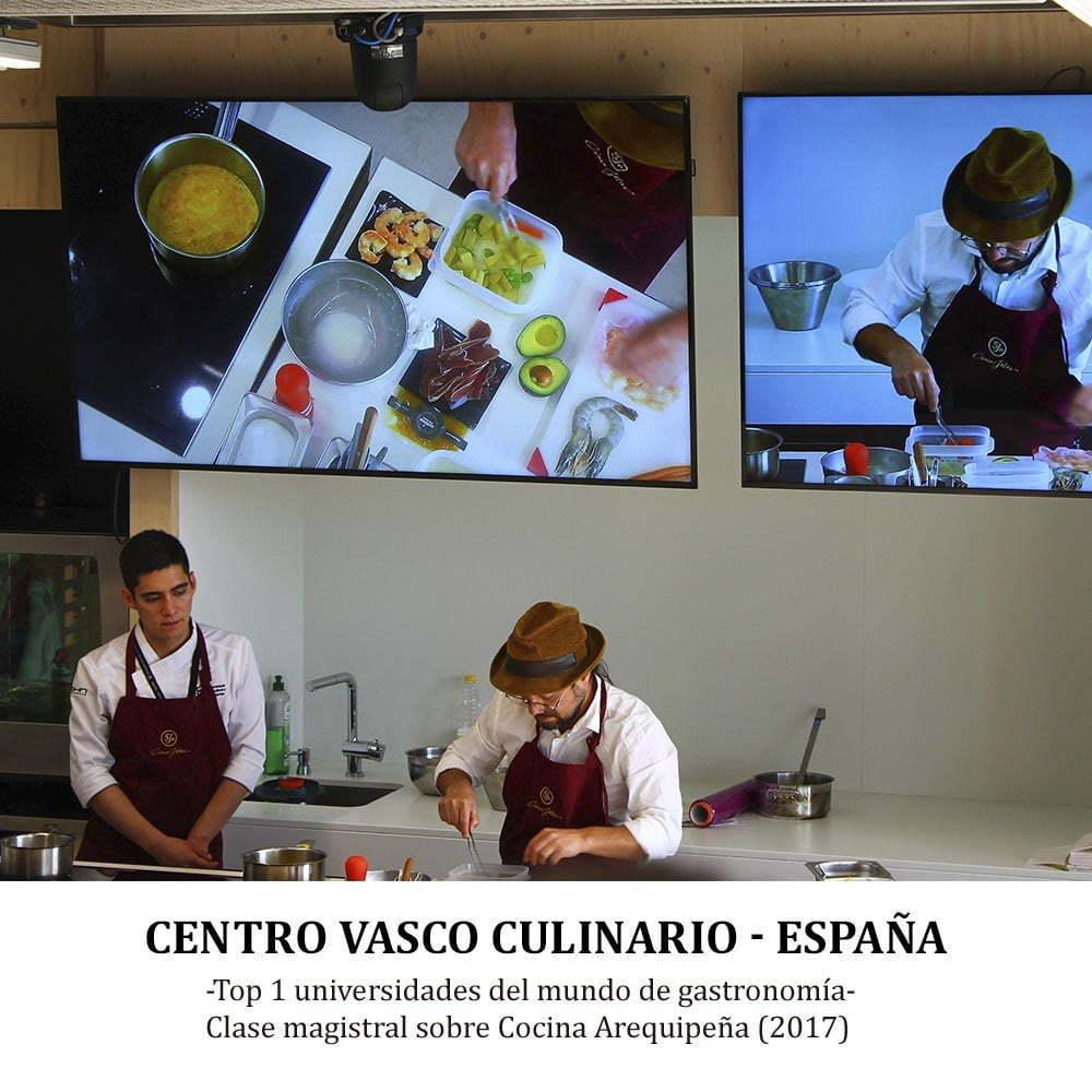 CENTRO VASCO CULINARIO ‐ ESPAÑA